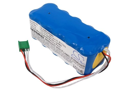 Battery2go Battery fit to GE 95916781 REV B, DASH2000, MD-BY10, Marquette Medical Systems DASH 2000