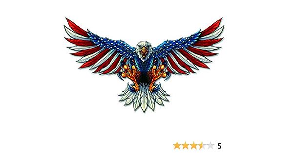 Die Cut Vinyl Decal American Bald Eagle DIY Graphics 20 Colors Car Truck #340