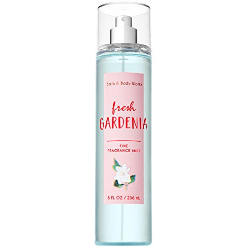 Bath and Body Works Fresh Gardenia Fine Fragrance Mist 8 Fluid Ounce (2018 (Fresh Gardenia)