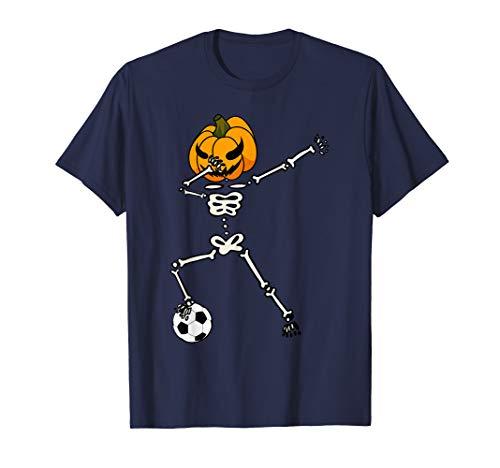 (Dabbing Football Skeleton Halloween Soccer)