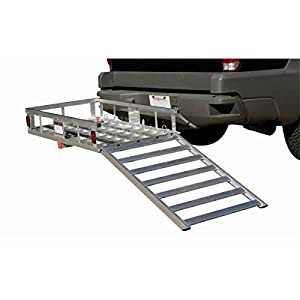 Amazon Com 500 Lb Capacity Hitch Mount Aluminum Mobility
