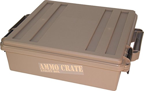 MTM Case-Gard ACR4 Ammo Crate Utility Box, Dark Earth ()