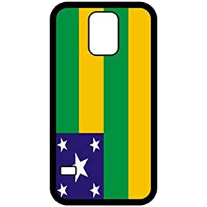 Sergipe Flag Black Samsung Galaxy S5 Cell Phone Case - Cover