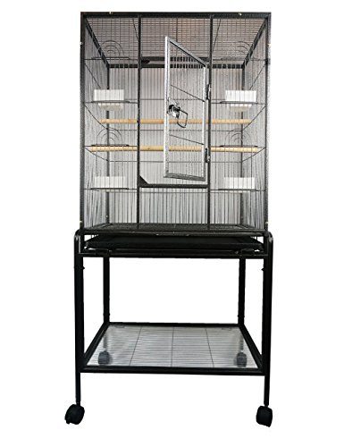 Long Tail Bird Parrot cage Chinchilla Ferret small animals cage W/Stand Overall size 24