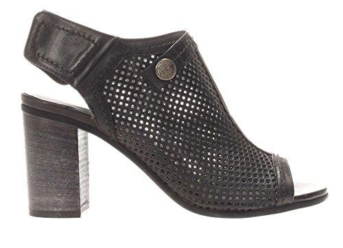 Nero Giardini - Zapatillas para deportes de exterior para mujer beige champán 37 negro