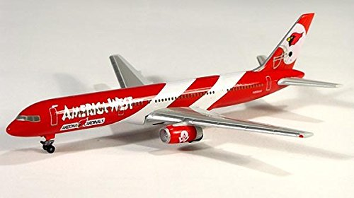 (Herpa 503884 America West Boeing 757-200 Special Football Livery 1:500 Scale Diecast Display Livery)
