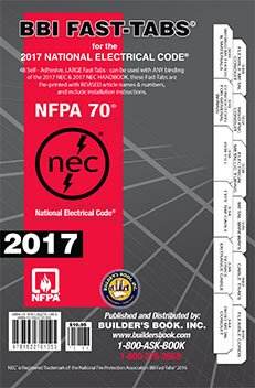 NFPA 70: National Electrical Code (NEC) Handbook and Fast Tabs, 2017 Edition, Set by NFPA-BB (Image #2)