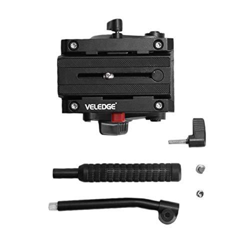 ❣Upgraded Lightweight VELEDGE VD-M8 Fluid Head Hydraulic Damping Video Camera Tripod Head for Pro DSLR Tripod Monopod❣
