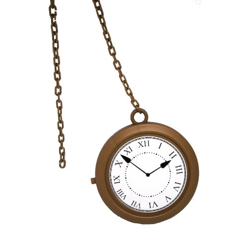 Forum Novelties Gold Rapper's Clock Necklace -