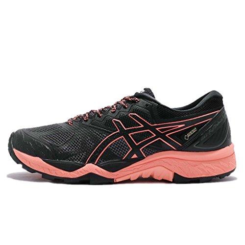 Price comparison product image ASICS Women's Gel-Fujitrabuco 6 G-TX,  Black / Begonia Pink / Black,  26.5 cm