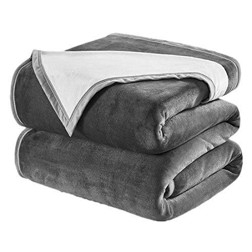 DREAMFLYLIFE King Fleece Blanket, Luxury Super Thick 460GSM