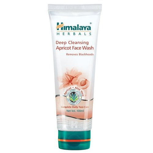 Himalaya Herbals Deep Cleansing Apricot Face Wash   100ml  Pack of 3