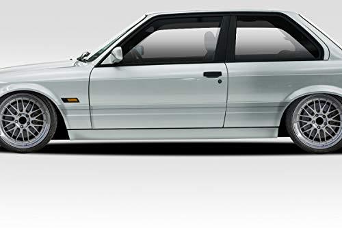 Duraflex Replacement for 1984-1991 BMW 3 Series E30 2DR M-Tech Side Skirts Rocker Panels - 2 Piece