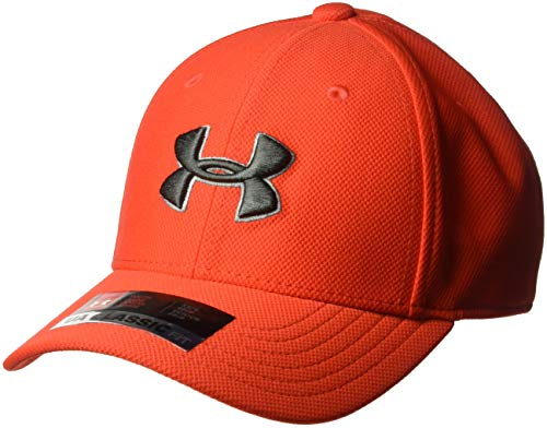 (Under Armour Boys Blitzing 3.0 Cap, Radio Red (890)/Charcoal, Youth Small/Medium)