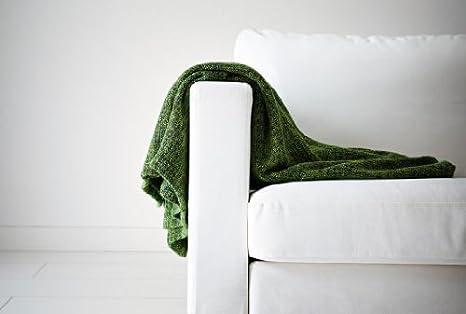Amazon.com: IKEA Gurli Manta Soft Blanket Verde 71 x 47 ...