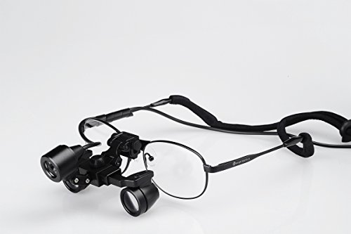 Songzi Optics Professional&promoting Waterproof Ultra-light 3x,depth of Field: 200mm, Working Distance:300-500mm,binocular Dental Loupes Surgical Medical Loupes & Led Light