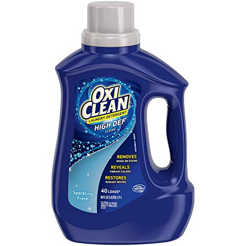 OxiClean High Def Sparkling Fresh Liquid Laundry Detergent, 60 oz.