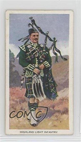 The Highland Light Infantry COMC REVIEWED Good to VG-EX (Trading Card) 1939 Godfrey Phillips Soldiers of the King - Tobacco [Base] #12 (Tobacco Phillips Card)