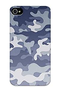 Flyinghouse Perfect Tpu Case For Iphone 4/4s/ Anti-scratch Protector Case (camouflage Pattern )