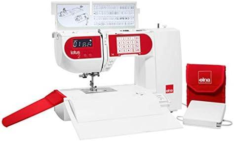 Elna LOTUS 2 – Compacto de ordenador Máquina de coser: Amazon.es ...