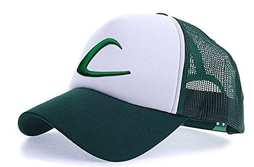 myglory77mall Sombrero Blanco de Verde para T1 Animado Hombre 6pd6rzqw