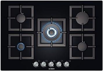 Wonderful Bosch PPQ816B21E Incasso Gas Nero Piano Cottura: Amazon.it: Casa E Cucina