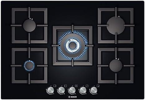 Bosch PPQ816B21E Incasso Gas Nero piano cottura: Amazon.it: Casa e ...