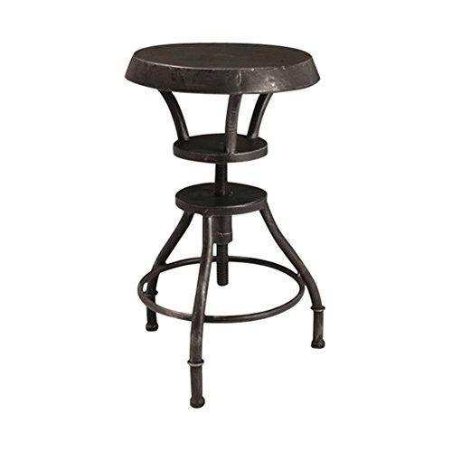 Best Selling Luke Iron Top Adjustable Bar Stool
