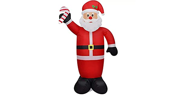 SOULONG Papa Noel Inflables de Navidad,Papa Noel Inflable 240 cm ...