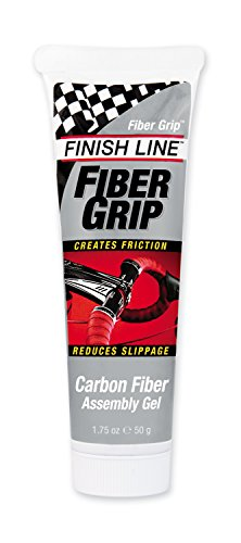 Finish Line Fiber Grip Carbon Fiber Bicycle Assembly Gel, 1.75-Ounce Tube ()