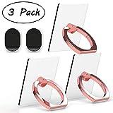 Attom Tech Transparent Phone Ring Holder Grip 360 Degree...