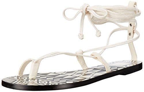 Dolce Vita Women Chandler Toe Ring Sandal Off White