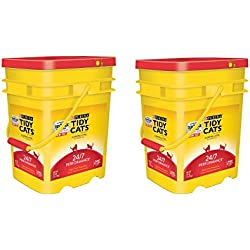 Purina Tidy Cats Clumping Litter 24/7 Performance for Multiple Cats 35lb. 2 Pail