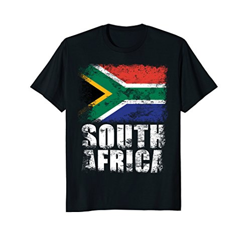Mens South Africa Flag T-Shirt | South African Flag Tee Large - For South Just Men Africa