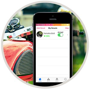 Scout Universal Vehicle GPS Tracker Anti theft W/Real Time GPS Location And Movement Alerts W/FREE Hardwire Kit