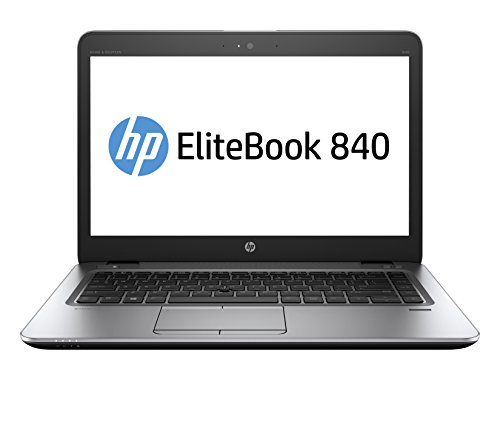 "HP EliteBook W4Z96AW Laptop (Windows 10 Pro, Intel Core I5-6300U, 14"" LED Screen, Storage: 32 GB, RAM: 8 GB) Silver"