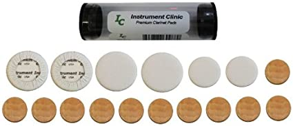 Email Your Clarinet Model Instrument Clinic Leather Clarinet Pad ...