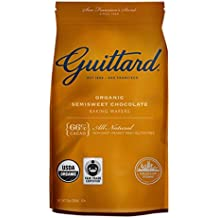 Guittard Organic Semisweet Chocolate Baking Wafers, 66%