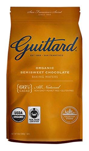 Guittard, Baking Wafer Semisweet 66% Organic, 12 ()