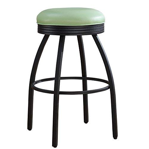 American Heritage Billiards Manhattan Counter Height Bar Stool, 26-Inch, Green