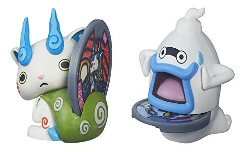 BEST Seller Yo-Kai Watch Medal Moments Wave 2 - SET OF 2 Action Figure - Whisper (Pinkie Ie)