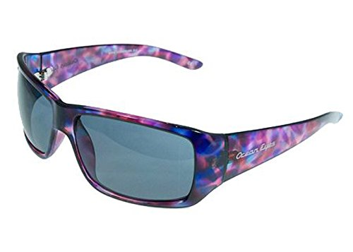 Ocean Eyes Hollywood - Shiny Blue, Pink, Purple Polarized - Eyes Sunglasses Ocean