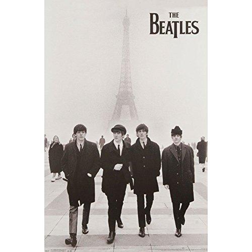 Trends International The Beatles Eiffel Tower Poster 24