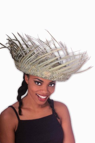 Forum Novelties Women's Novelty Bird's Nest Hat, Multi Colored, One Size (Hawaiian Party Dress)