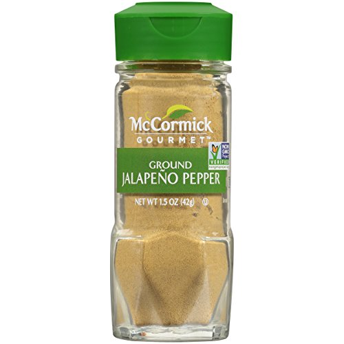 Rub Jalapeno (McCormick Gourmet Ground Jalapeno Pepper, 1.5 oz)