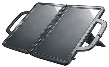 Visua - Cargador de baterías por luz solar (diodo, carcasa exterior ABS)