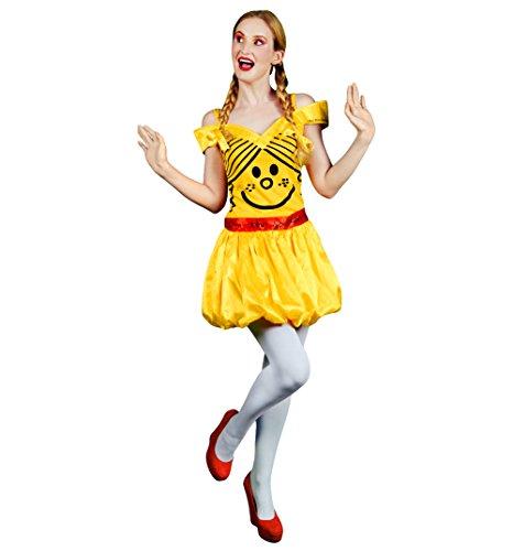 Womens Little Miss Sunshine Fancy Dress Costume