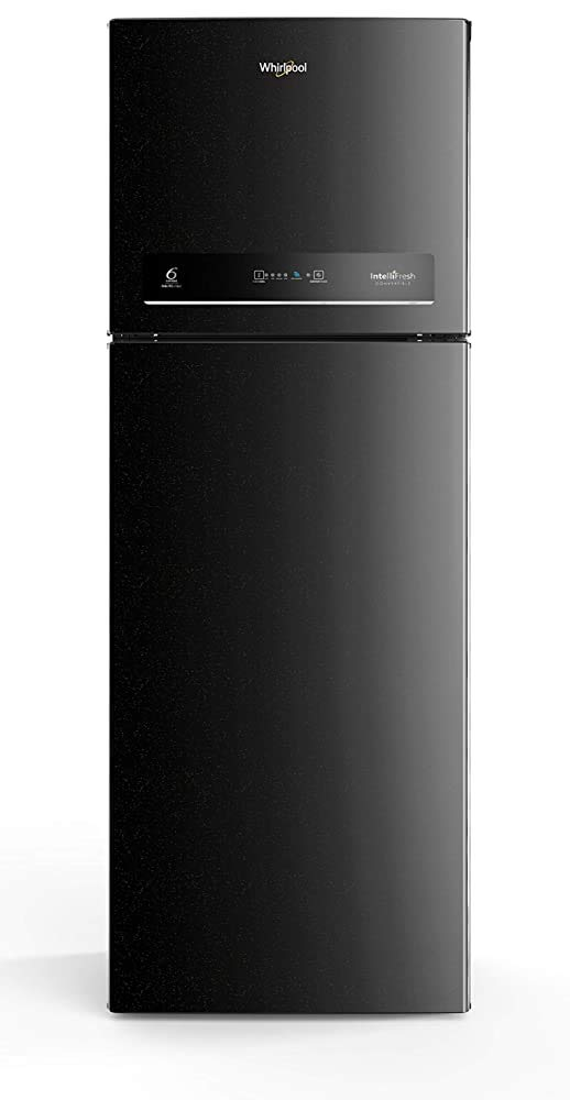 Whirlpool 265 L 3 Star with Inverter Double Door Refrigerator  INTELLIFRESH INV CNV 278 3S, Black Sparkle  Refrigerators
