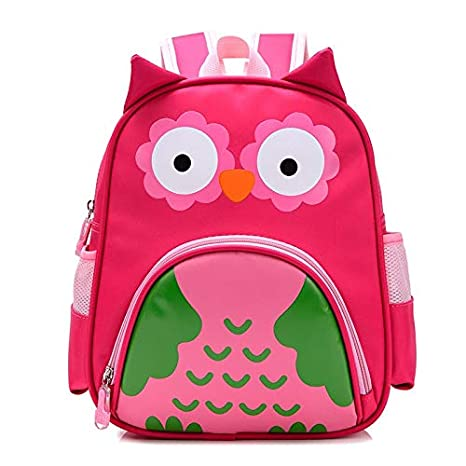 KHDJH Mochila Infantil Ortopédica Nous Owl Animales Bebé Mochila ...