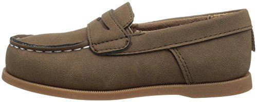 Pictures of Carter's Boys' Simon4 Slip-On Boat Brown 7 M US Toddler 5